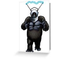 Robot Monster Greeting Card