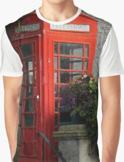 Phone Box Graphic T-Shirt