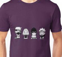 Team seven chibi Naruto Kakashi Sakura Sasuke Unisex T-Shirt