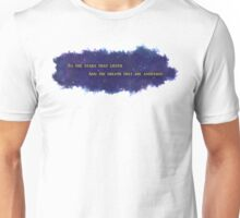 To The Stars That Listen (Gold) - A Court of Mist and Fury Unisex T-Shirt