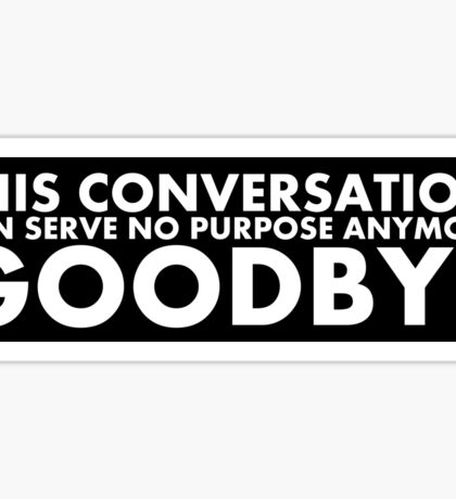 Hal 9000 - This Conversation Sticker