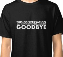 Hal 9000 - This Conversation Classic T-Shirt