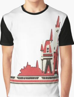 Monorail Castle Graphic T-Shirt