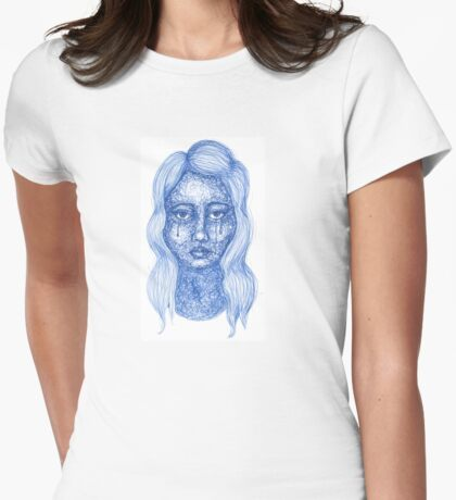 Woman Womens Fitted T-Shirt