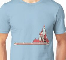 Monorail Castle Unisex T-Shirt