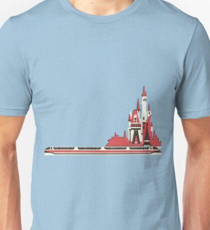 Monorail Castle Unisex T-Shirt