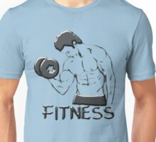 Fitness man Unisex T-Shirt
