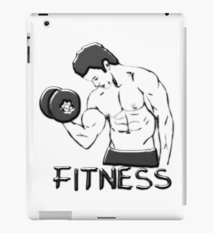 Fitness man iPad Case/Skin