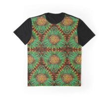 Floral Fusion Graphic T-Shirt