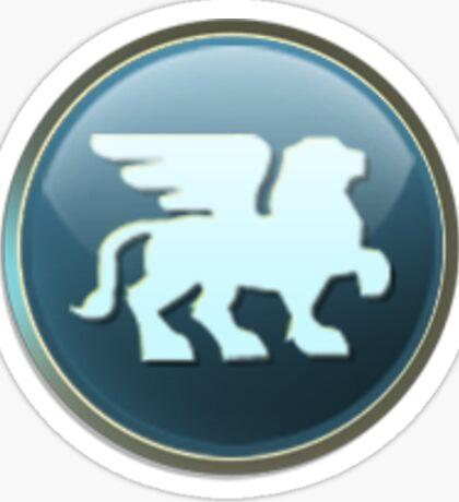 Civilization V Babylon Emblem Sticker Sticker
