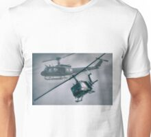 Bell UH-1H Helicopter (Huey 509) Unisex T-Shirt