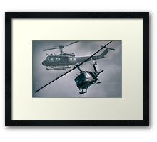 Bell UH-1H Helicopter (Huey 509) Framed Print