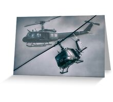 Bell UH-1H Helicopter (Huey 509) Greeting Card