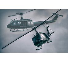 Bell UH-1H Helicopter (Huey 509) Photographic Print