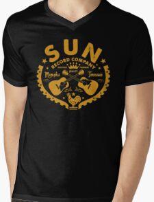 SUN Records Mens V-Neck T-Shirt