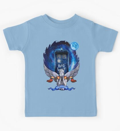 The Angel with time travel Box Kids Tee