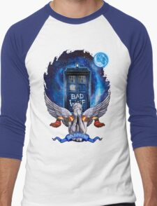 The Angel with time travel Box Men's Baseball ¾ T-Shirt