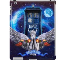 The Angel with time travel Box iPad Case/Skin