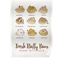 Fresh Fluffy Buns Poster