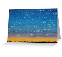 Western Stars original painting Greeting Card