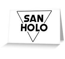 San Holo Greeting Card