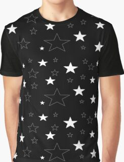 Night time Stars Graphic T-Shirt