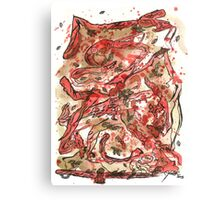 Red nature Canvas Print