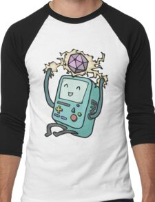 BMO loves D&D Men's Baseball ¾ T-Shirt