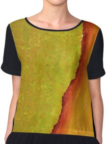 Mighty Mississippi original painting Chiffon Top