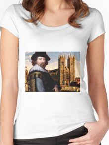 FRANCIS BACON Women's Fitted Scoop T-Shirt