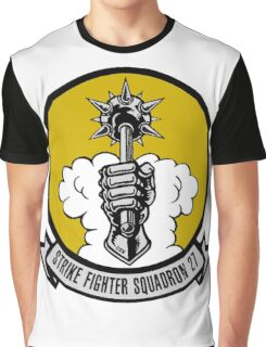 VFA-27 Royal Maces Patch Graphic T-Shirt
