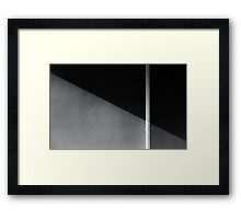 Wrong cut Framed Print