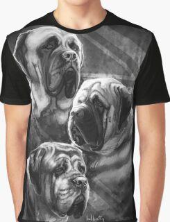English Mastiffs Graphic T-Shirt