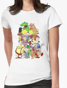 Nick Friends! Womens Fitted T-Shirt