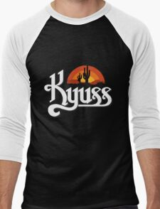 Kyuss Logo Men's Baseball ¾ T-Shirt