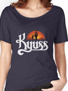 Kyuss Logo Women's Relaxed Fit T-Shirt