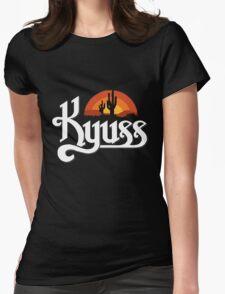 Kyuss Logo Womens Fitted T-Shirt
