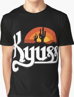 Kyuss Logo Graphic T-Shirt
