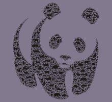 Panda 3 Kids Tee