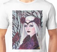 Broken dreams vampire woman by Renee Lavoie Unisex T-Shirt