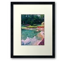 Victoria Gardens at EPCOT Framed Print
