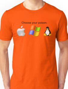 """Choose your poison"" - Bright Unisex T-Shirt"