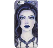 Morgan Le fay witch by Renee Lavoie iPhone Case/Skin