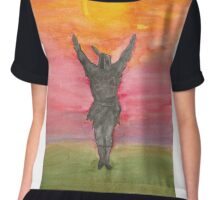 Praise The Sun! Chiffon Top