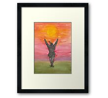 Praise The Sun! Framed Print