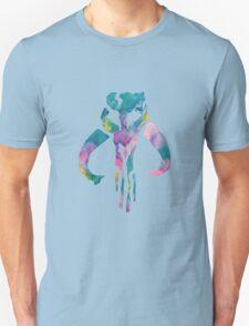 Watercolor Fett (white) Unisex T-Shirt