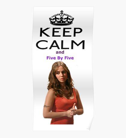 Buffy Faith Eliza Dushku Poster