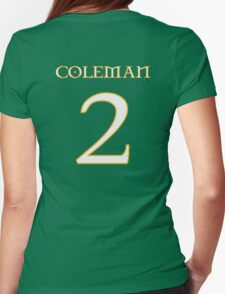 Seamus Coleman 2 - Euro 2016 Womens Fitted T-Shirt