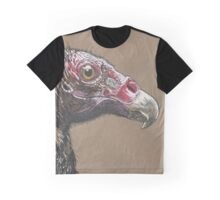 Turkey Vulture - The Hurried Hawk Graphic T-Shirt