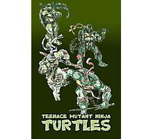 TMNT-Poster Photographic Print